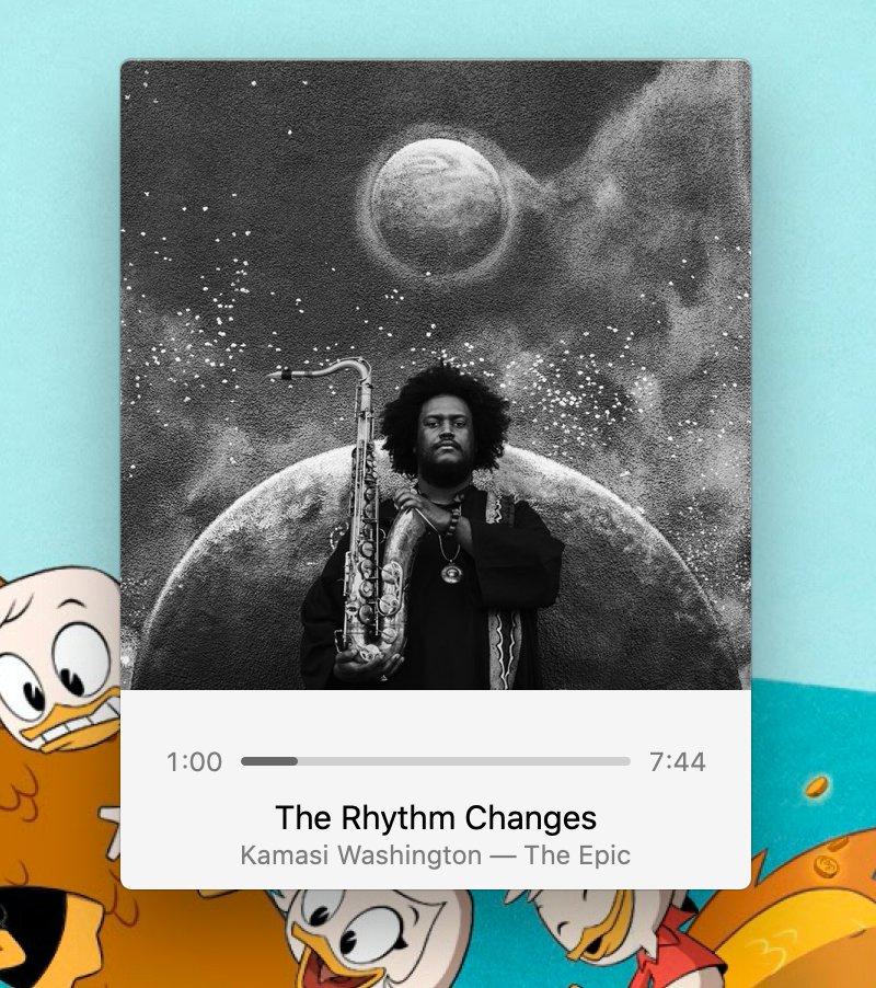 """""""The Rhythm Changes"""", from Kamasi Washington's album The Epic"""